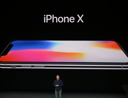 เปิดตัวแล้ว iPhoneX รุ่นฉลอง 10 ปี iPhone